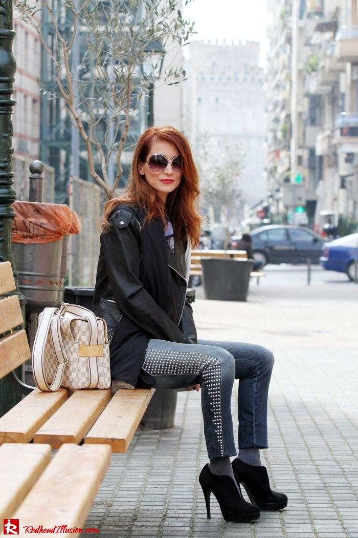 Redhead Illusion - Fashion Blog by Menia - Rock 'N  Walk-06