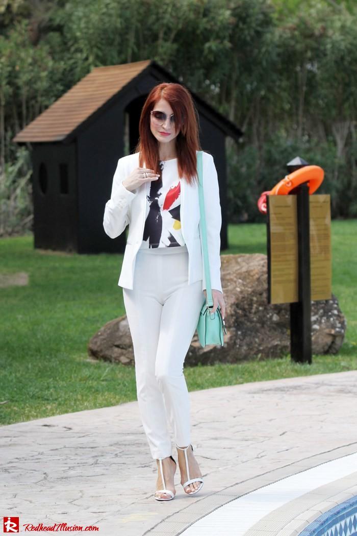 Redhead Illusion White Power