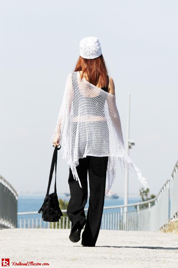 Redhead Illusion - Crochet story and other-Crochet Shawl-Crochet Beanie-10