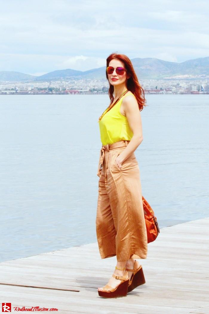 Redhead Illusion - Culottes - Wide leg pants-03