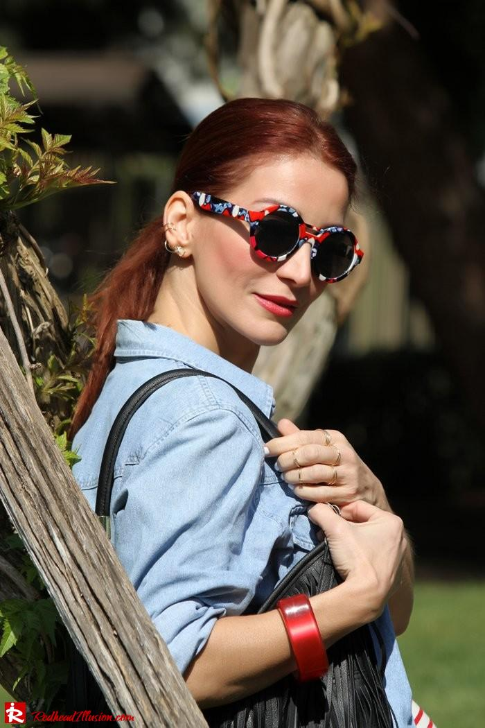 Redhead Illusion - Denim and stripes-04