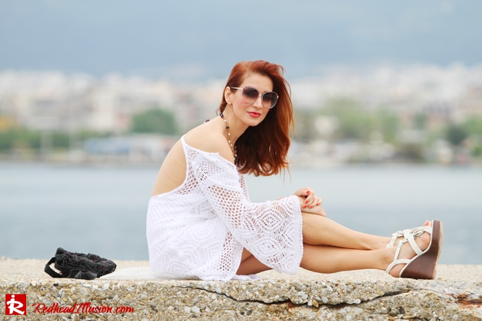 Redhead Illusion - Daydreaming - Crochet dress-08