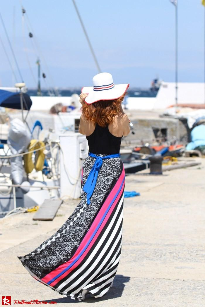 Redhead Illusion - Gone with the wind - Maxi dress-04