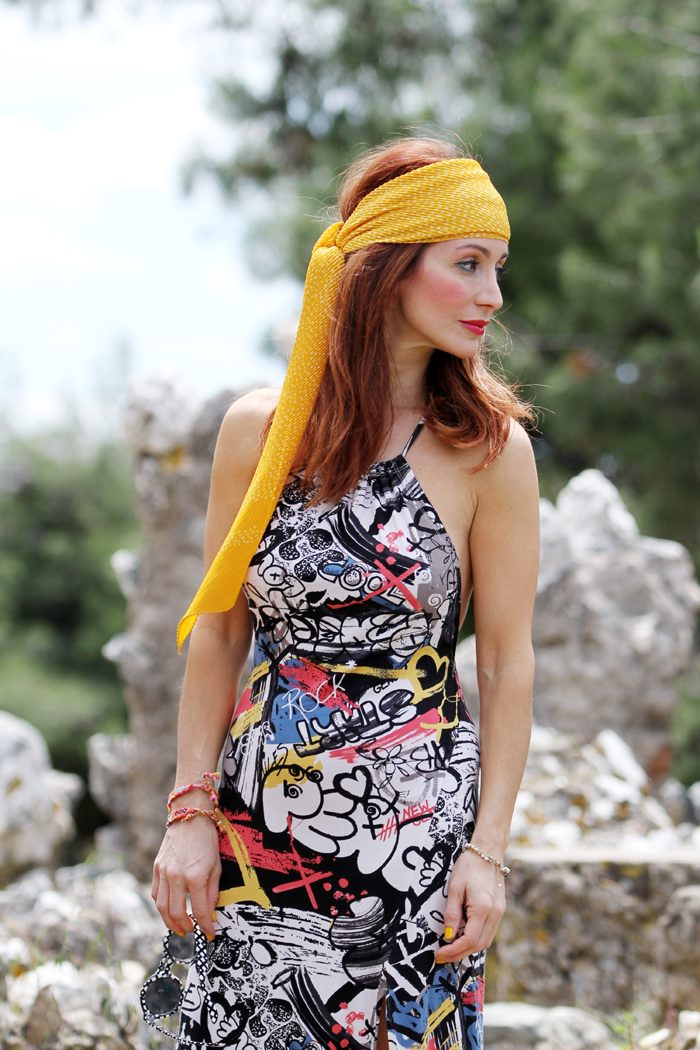 Redhead Illusion Hippie Chic