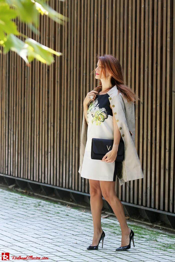Redhead Illusion - Orchids - Embellishment Dress with Ear Cuff-04