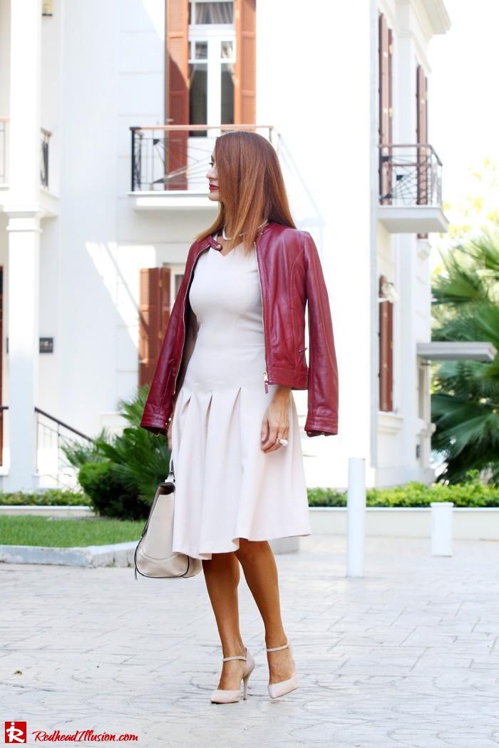 Redhead Illusion - Pink mood - H&M Dress - Massimo Dutti Jacket-05
