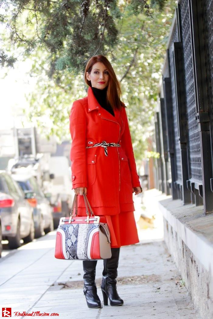 Redhead Illusion - Vitamin C - River Island Skirt - Karen Millen Coat-02