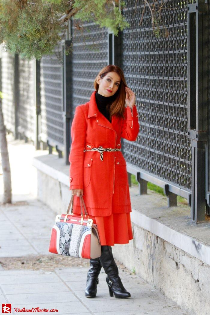 Redhead Illusion - Vitamin C - River Island Skirt - Karen Millen Coat-03