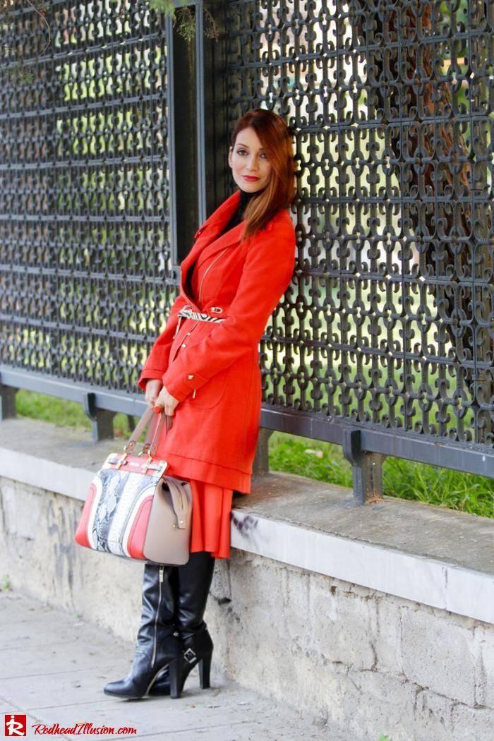 Redhead Illusion - Vitamin C - River Island Skirt - Karen Millen Coat-05