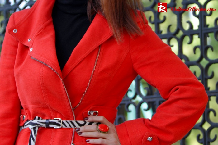 Redhead Illusion - Vitamin C - River Island Skirt - Karen Millen Coat-06
