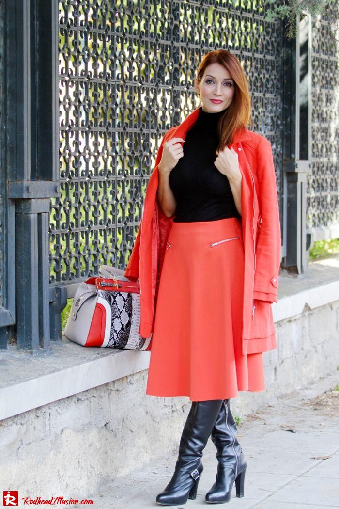 Redhead Illusion - Vitamin C - River Island Skirt - Karen Millen Coat-07