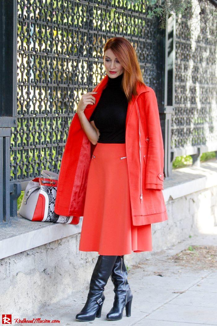 Redhead Illusion - Vitamin C - River Island Skirt - Karen Millen Coat-08