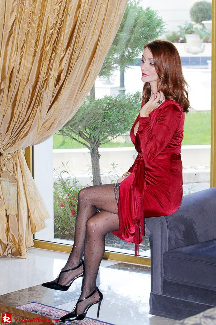 Redhead Illusion - Festive days and nights - Altuzarra Dress-04