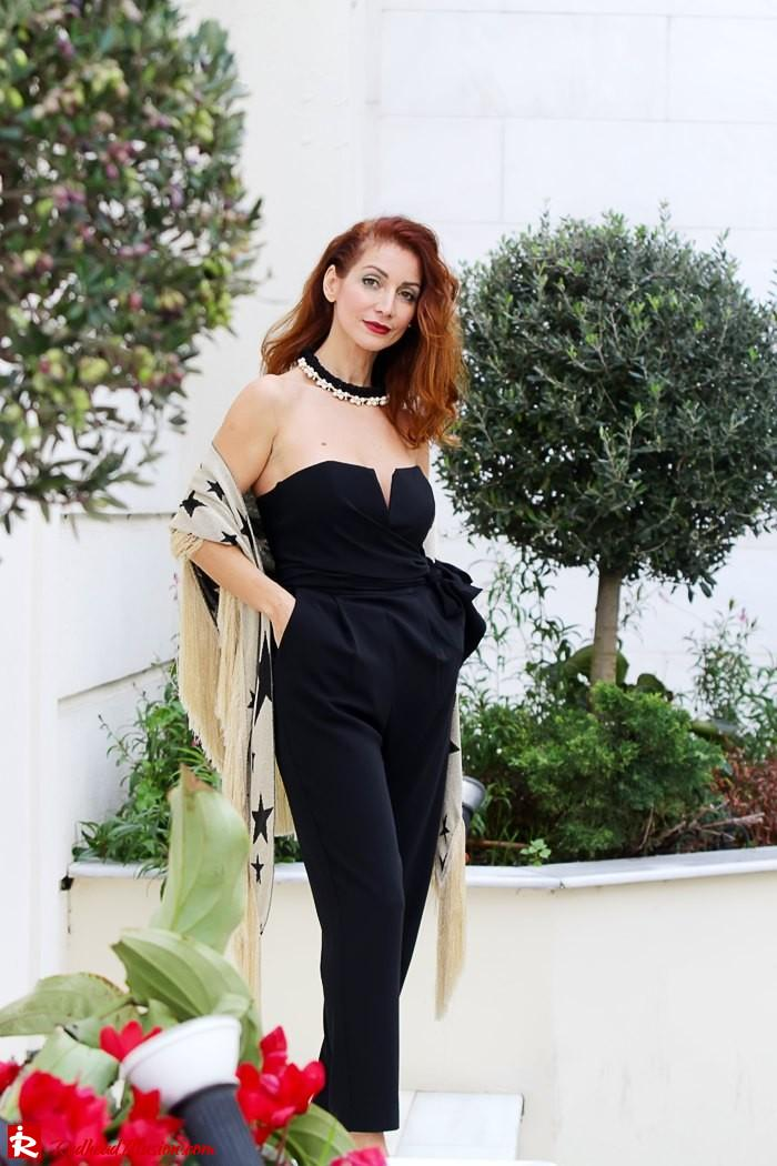 Redhead Illusion - My obsession goes on - Denny Rose Jumpsuit-03
