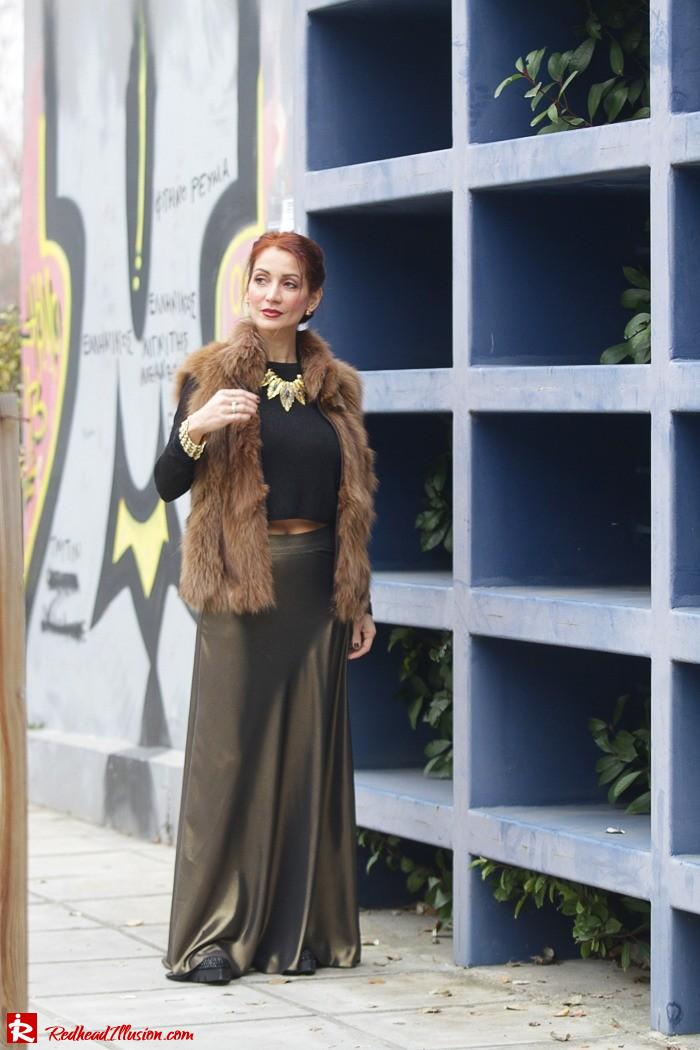 Redhead Illusion - Fashion Blog by Menia - Bronze Skirt - River Island Skirt-04