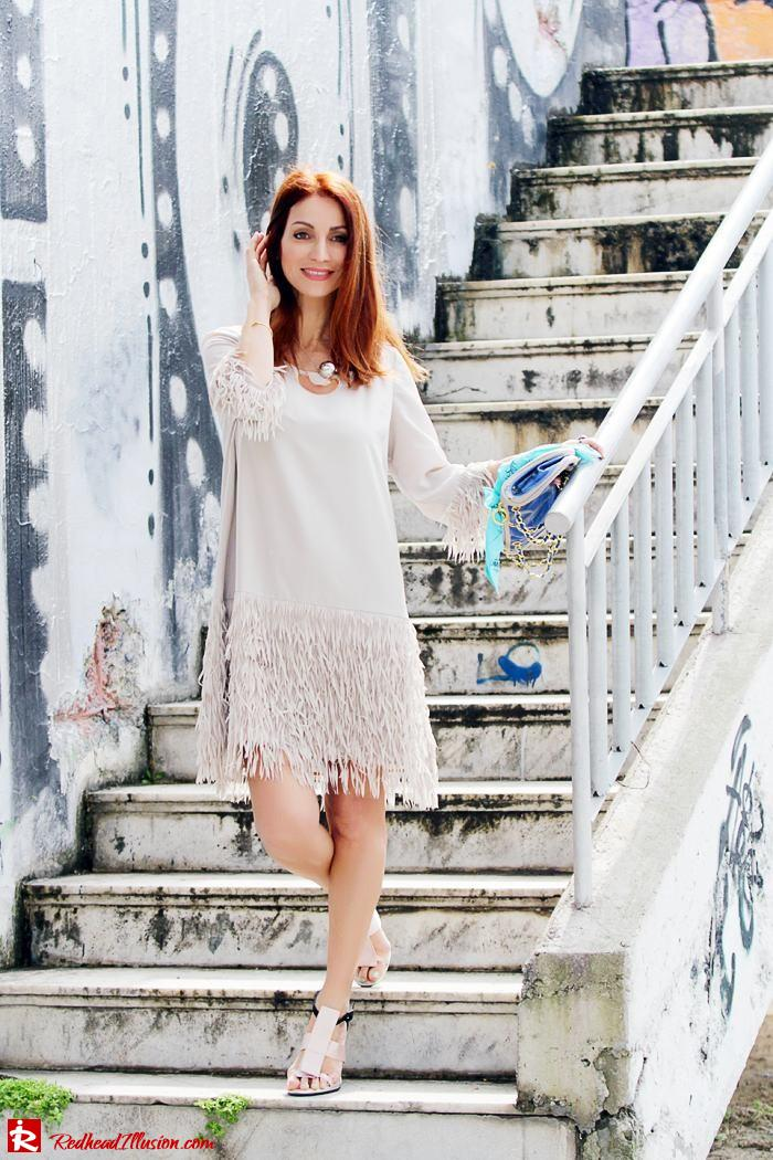 Redhead Illusion - Fashion Blog by Menia - Comfortable but also stylish - Twin-set Dress-03