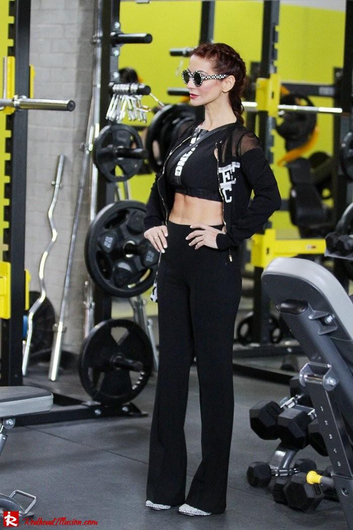 Redhead Illusion - Fashion Blog by Menia - Fashion gymaholic - Alexander Wang x H&M Sports Bra-104