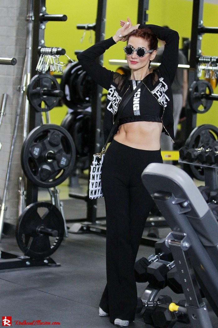 Redhead Illusion - Fashion Blog by Menia - Fashion gymaholic - Alexander Wang x H&M Sports Bra-105