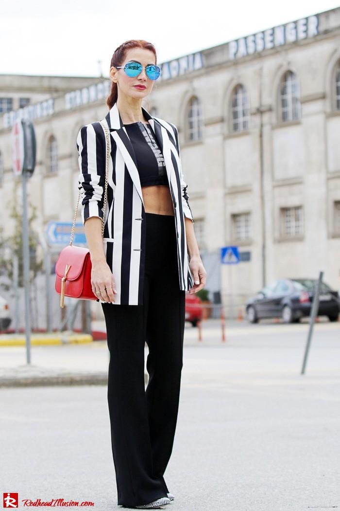 Redhead Illusion - Fashion Blog by Menia - Fashion gymaholic - Alexander Wang x H&M Sports Bra-205