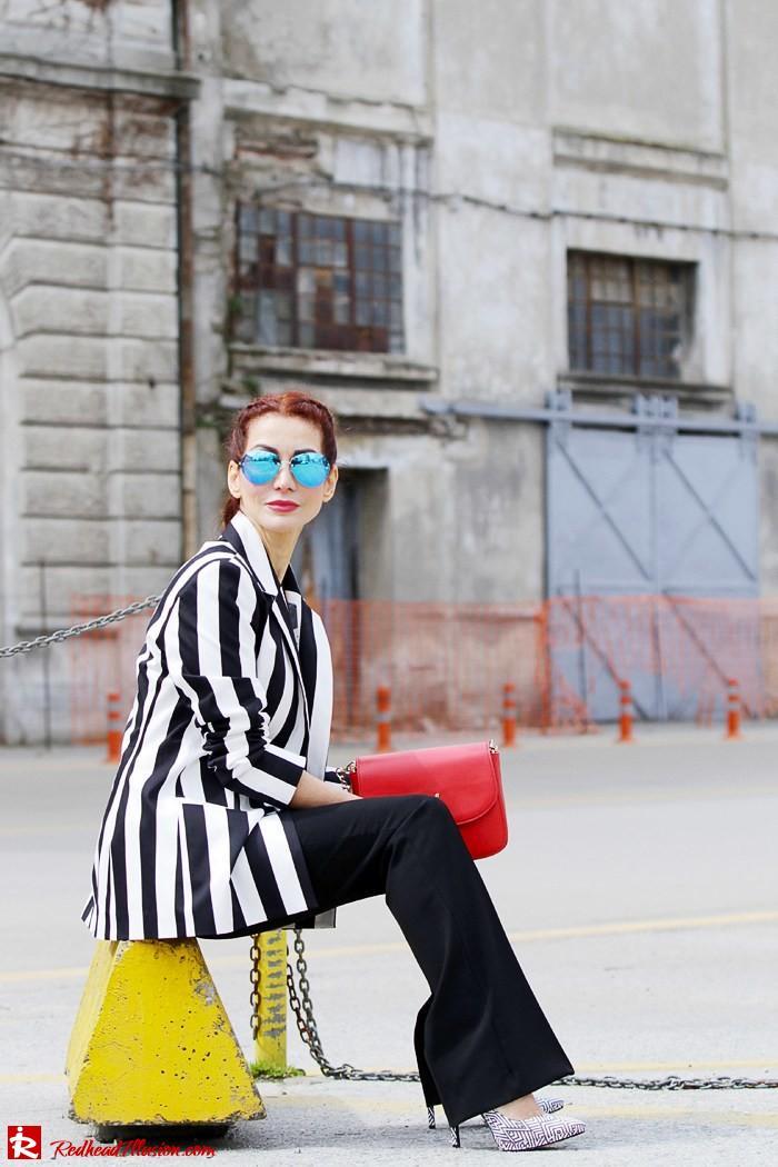 Redhead Illusion - Fashion Blog by Menia - Fashion gymaholic - Alexander Wang x H&M Sports Bra-208