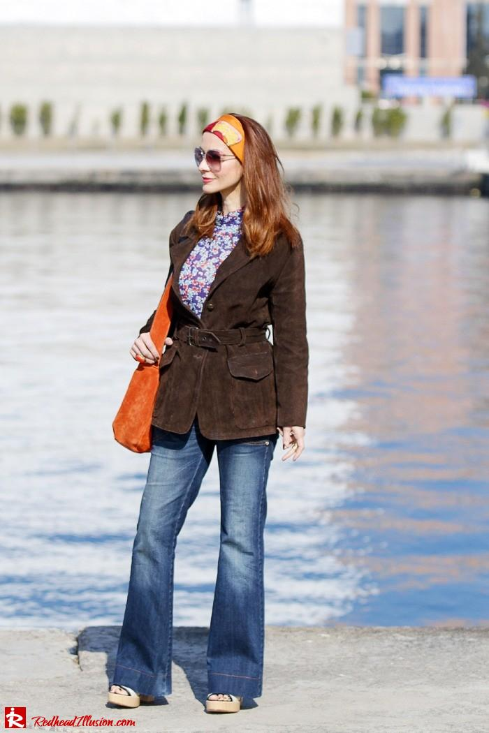 Redhead Illusion - Fashion blog by Menia - Flared Jeans - Denny Rose Jeans-06
