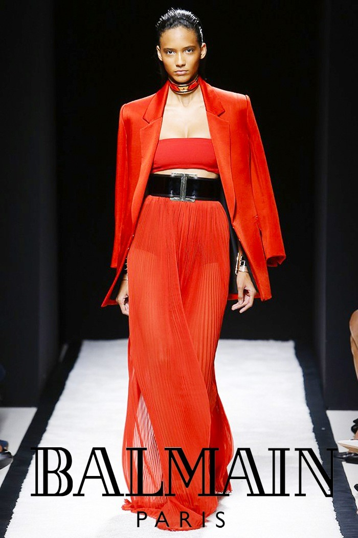Redhead Illusion - Fashion Blog by Menia - Fashion Show Balmain Spring-Summer 2015-03