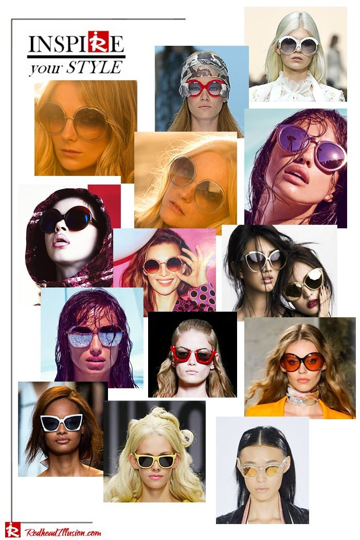 Inspire your style – Favorite sunglasses Spring-Summer 2015