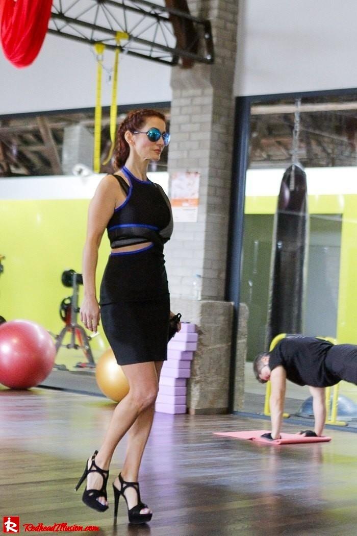 Redhead Illusion - Fashion Blog by Menia - Fashion gymaholic part 2! - Alexander Wang Sporty dress-14