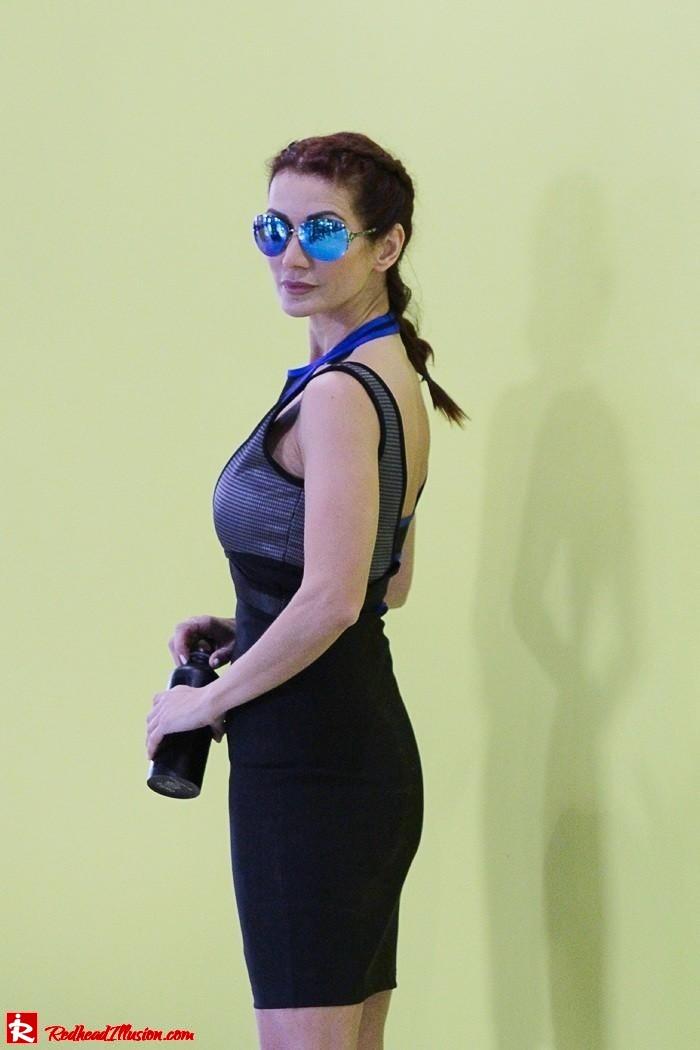 Redhead Illusion - Fashion Blog by Menia - Fashion gymaholic part 2! - Alexander Wang Sporty dress-15