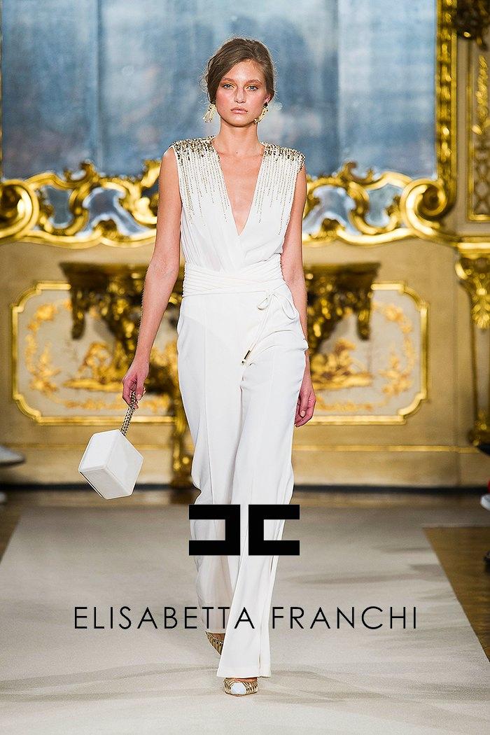 32a9c52a1b Fashion Show Elizabetta Franchi Spring-Summer 2015