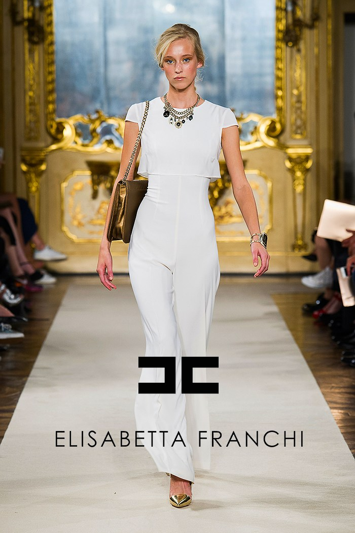best cheap abb75 c0490 Fashion Show Elizabetta Franchi Spring-Summer 2015