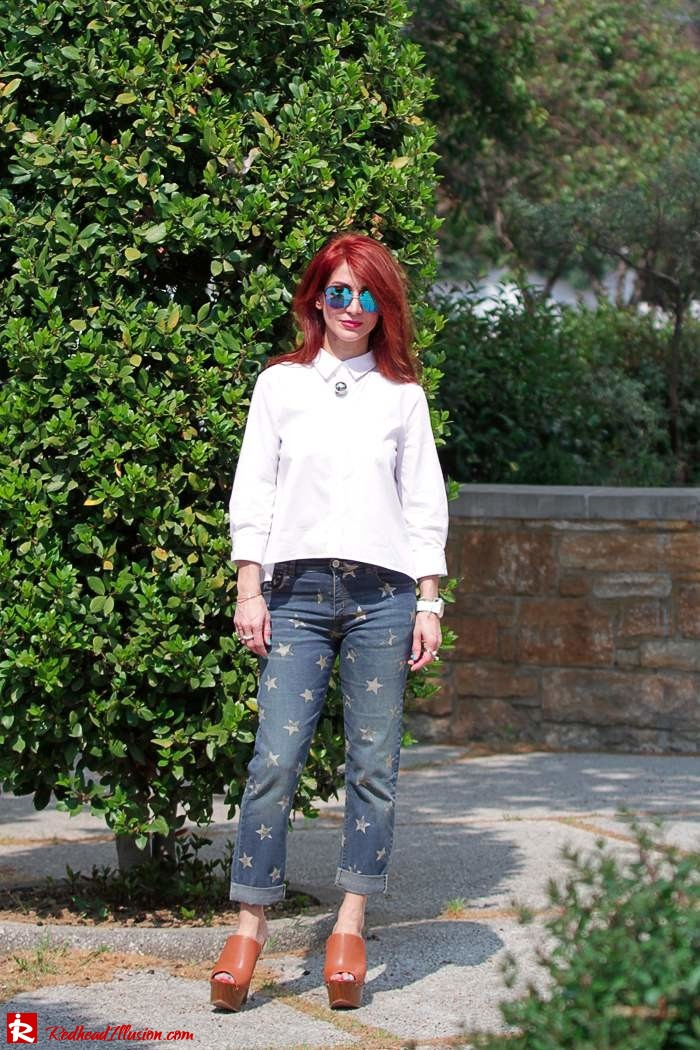 Redhead Illusion - Fashion Blog by Menia - Not classic - Denny Rose Jeans and Shirt-09