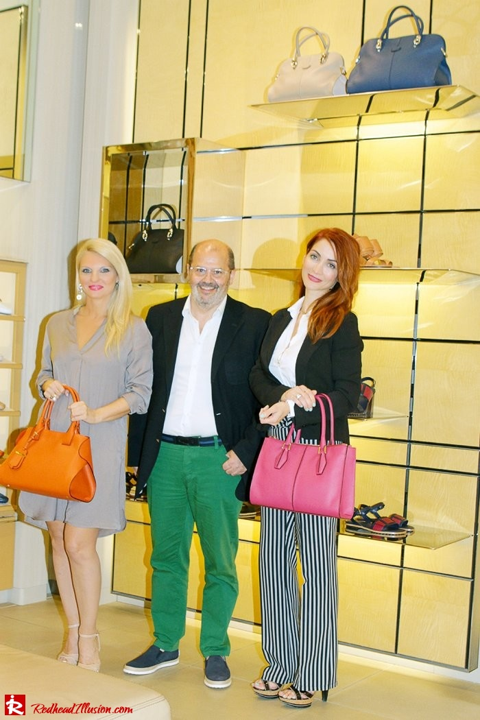Redhead Illusion - Fashion Blog by  Menia - Tod's Sping-Summer 2015-07