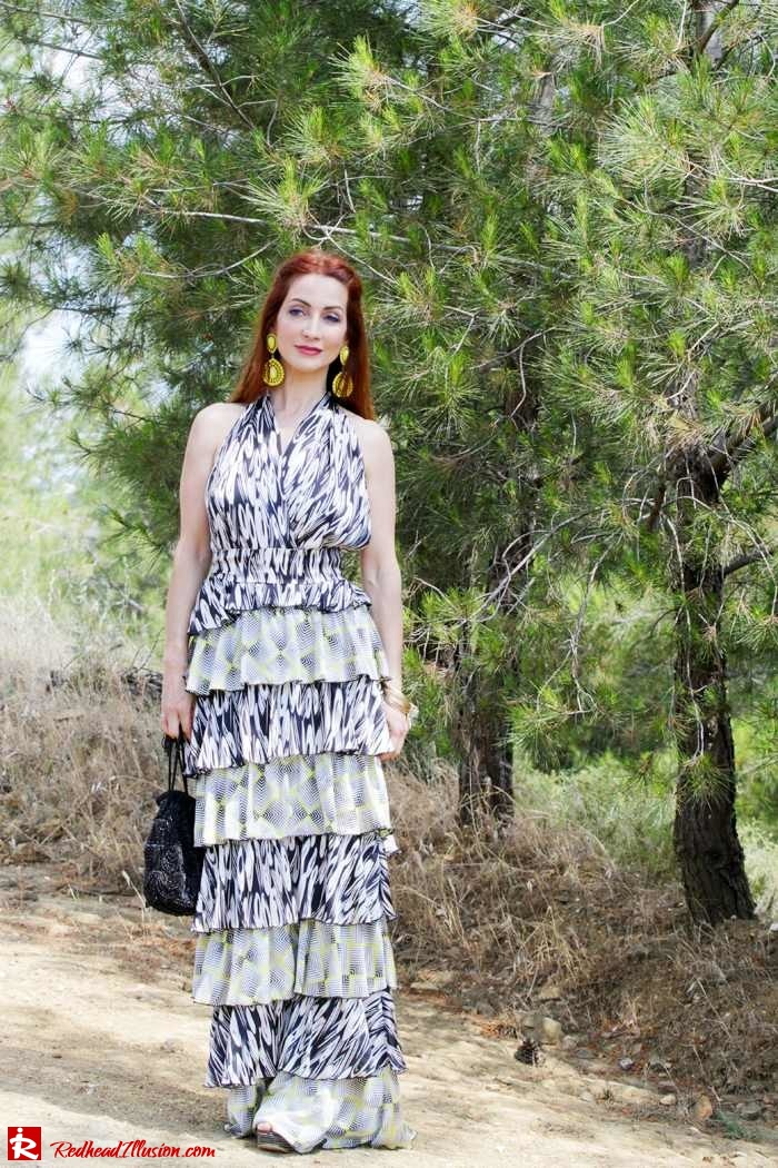 Redhead Illusion - Fashion Blog by Menia - Gipsy Land - Long Dress with Platform Shoes-02