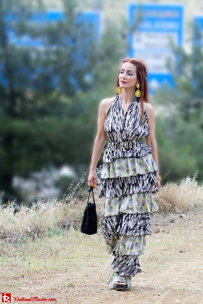 Redhead Illusion - Fashion Blog by Menia - Gipsy Land - Long Dress with Platform Shoes-03