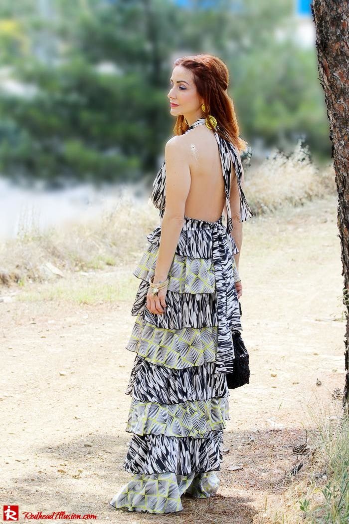 Redhead Illusion - Fashion Blog by Menia - Gipsy Land - Long Dress with Platform Shoes-08