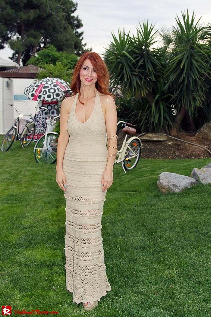 Redhead Illusion - Fashion Blog by Menia - Nude - Victoria Secret Crochet Dress-02