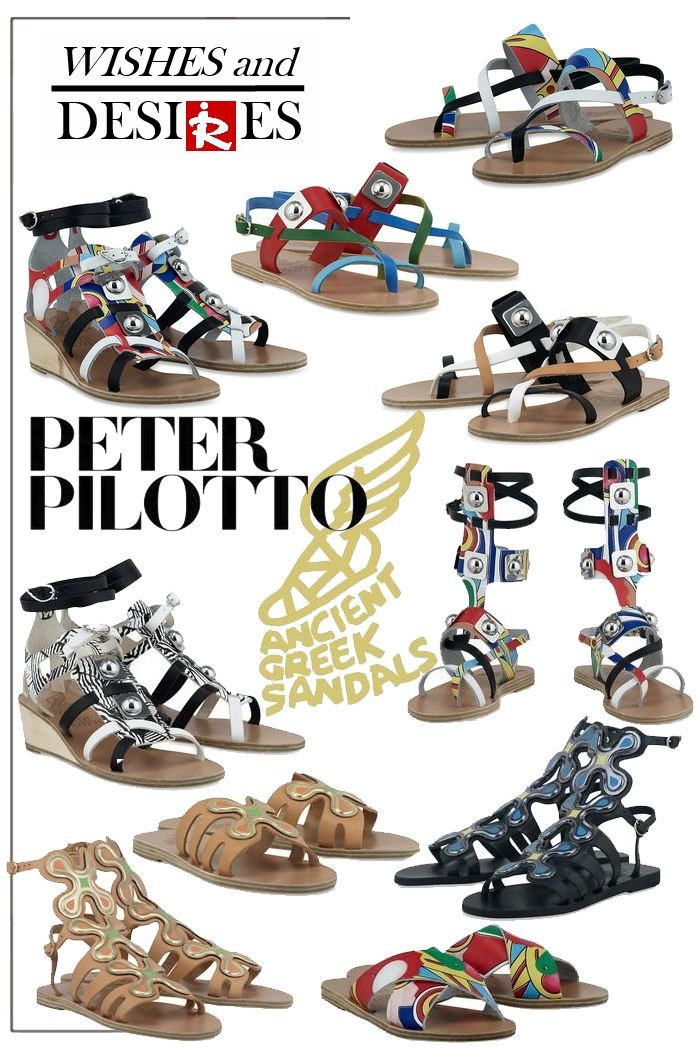 Ancient Greek Sandals x Peter Pilotto