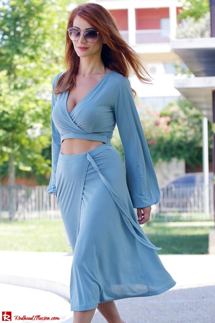 Redhead Illusion - Fashion Blog by Menia - Contrasts - Asos Dress - Gucci Sunglasses-05