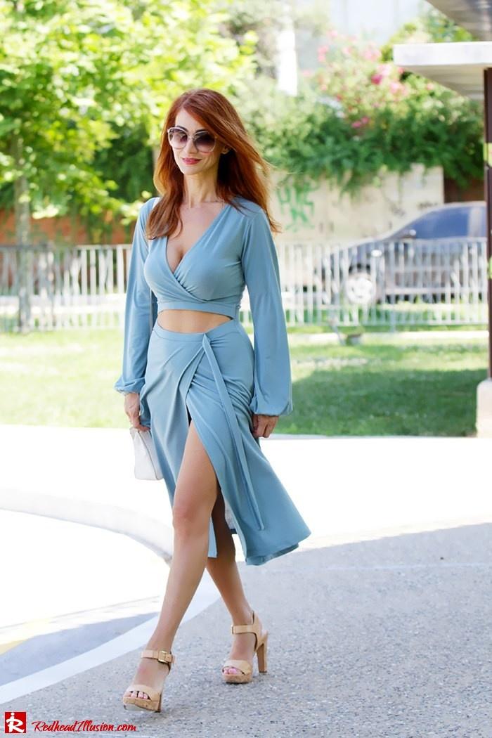Redhead Illusion - Fashion Blog by Menia - Contrasts - Asos Dress - Gucci Sunglasses-11