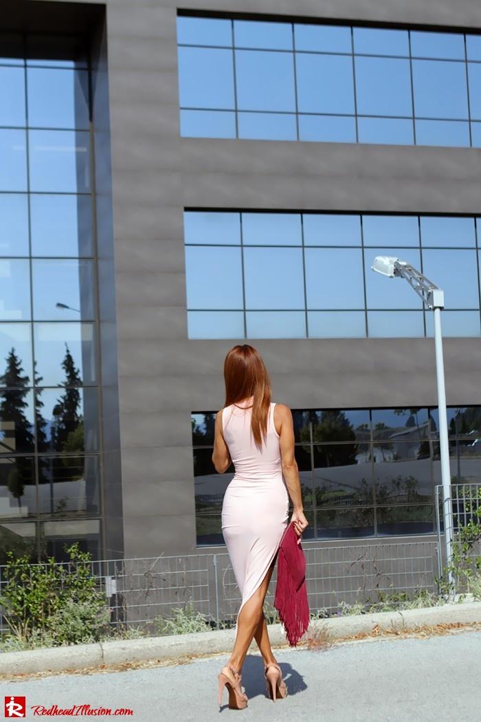 Redhead Illusion - Fashion Blog by Menia - Innocent... Pink - Asos Dress-14