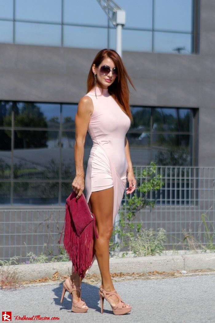 Redhead Illusion - Fashion Blog by Menia - Innocent... Pink - Asos Dress-15