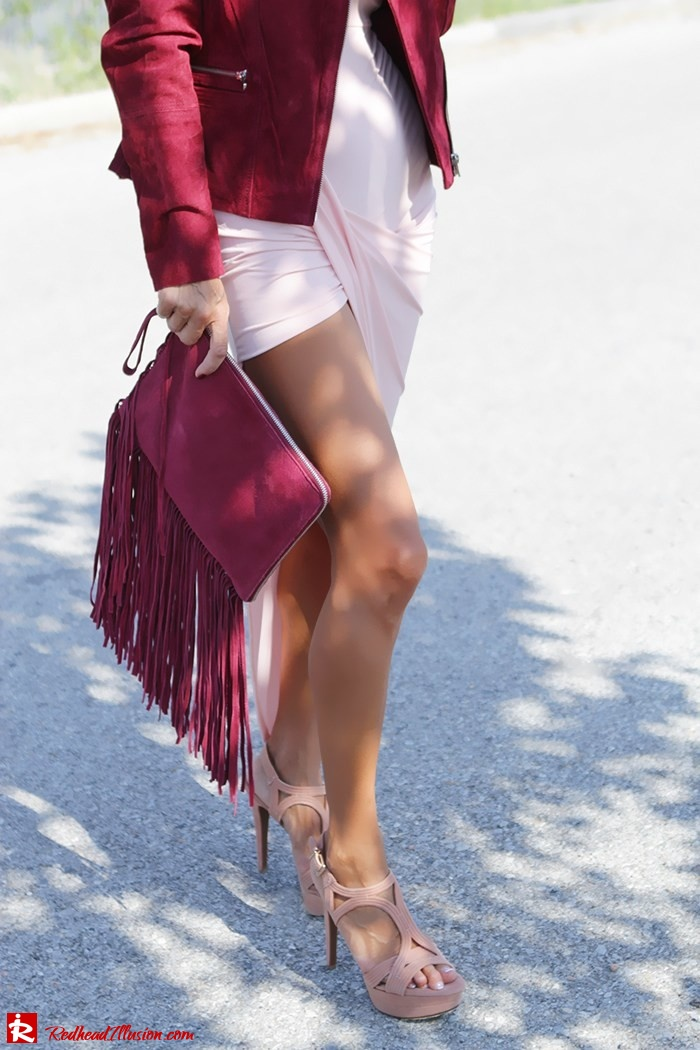 Redhead Illusion - Fashion Blog by Menia - Innocent... Pink - Asos Dress-16