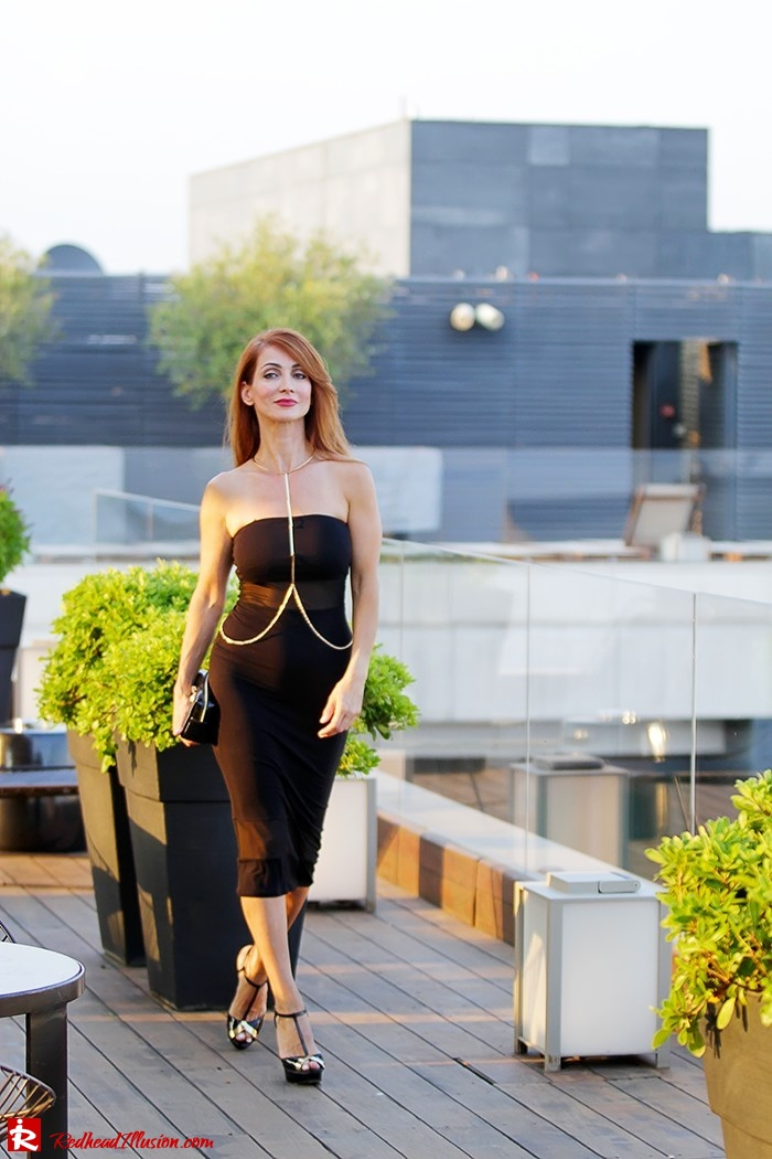 Redhead Illusion - Fashion Blog by Menia - Little Black Dress Asos - Ted Baker Clutch-08