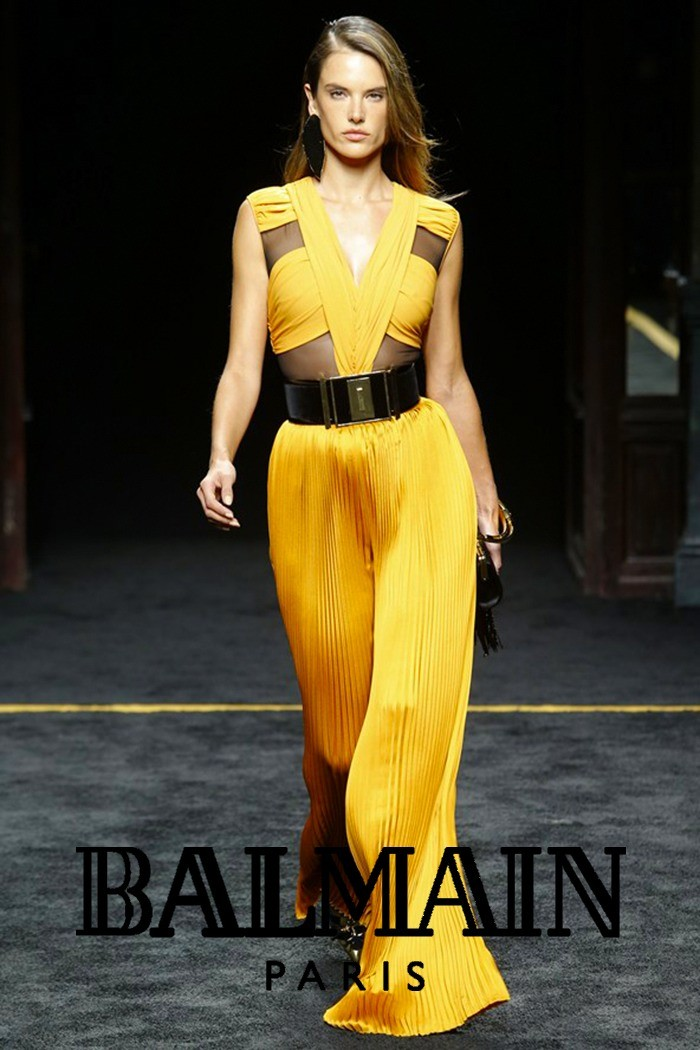 Redhead Illusion - Fashion Blog - Fashion Show Balmain - Autumn-Winter-2015-02