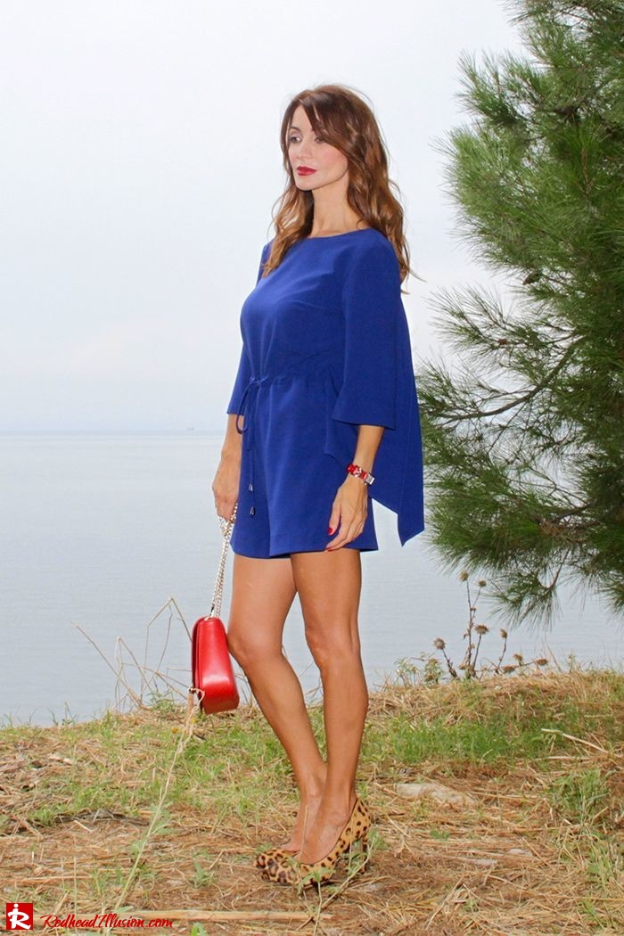 Redhead Illusion - Fashion Blog by Menia - Lost... in blue - Playsuit-02
