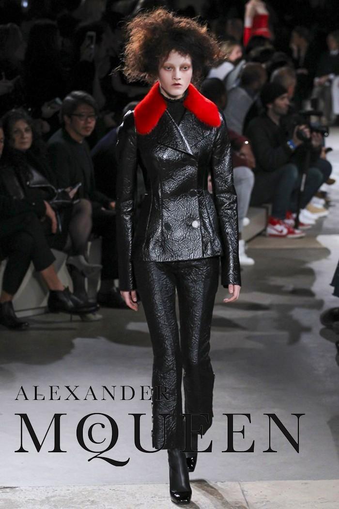Alexander McQueen Φθινόπωρο-Χειμώνας 2015
