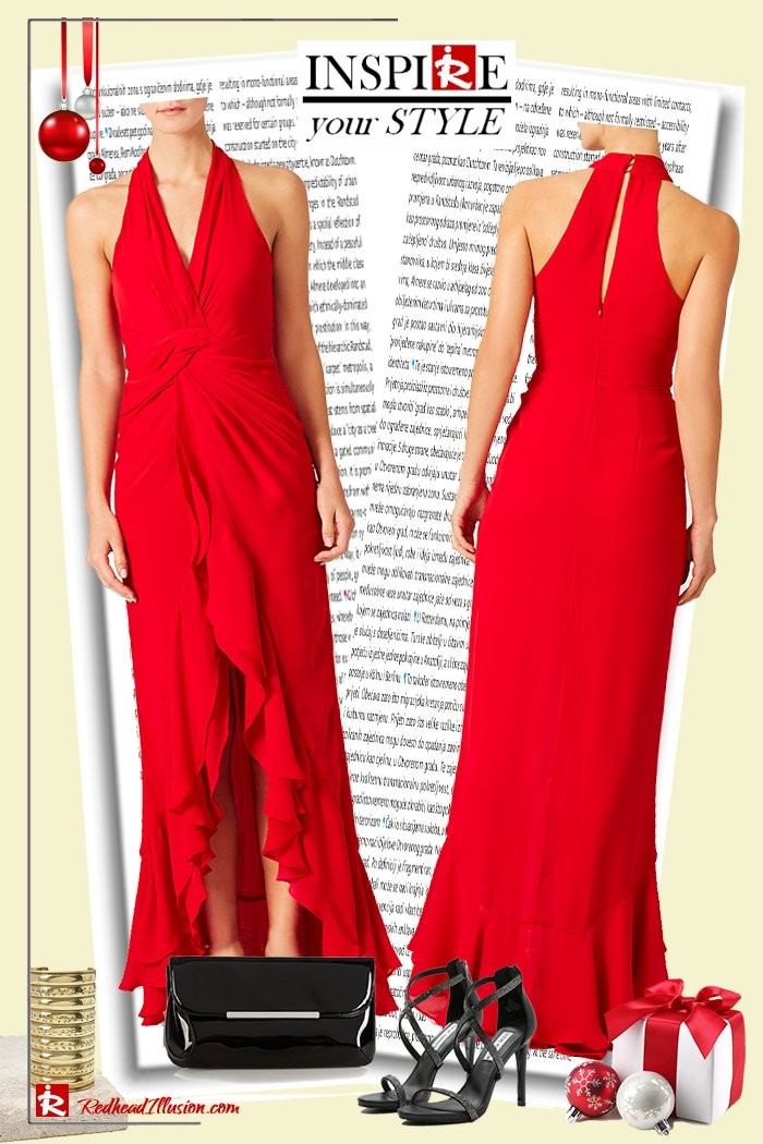 Redhead Illusion - Fashion Blog by Menia - Inspire your style - Red- Ruffled Gown-04