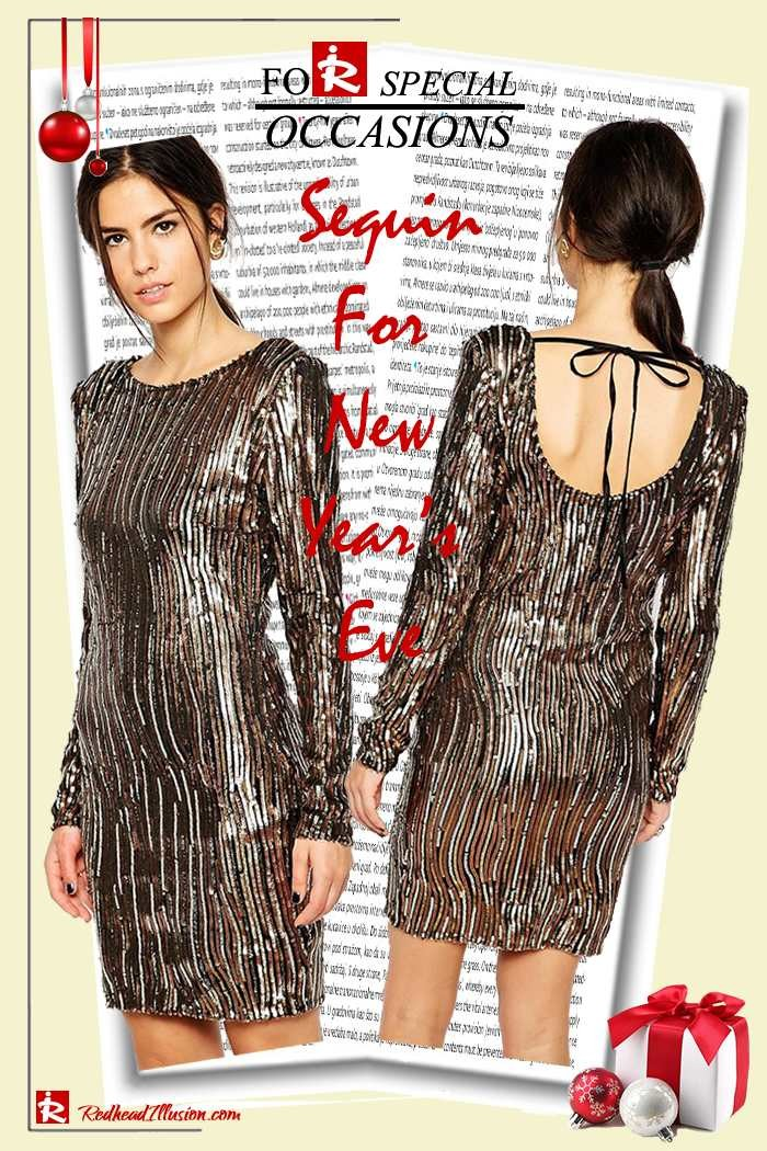 Redhead Illusion - Fashion Blog by Menia - Sequin for New Year's Eve-05