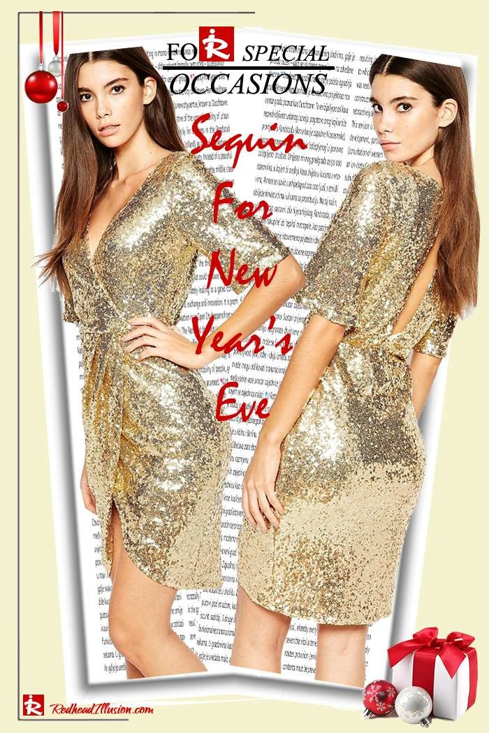 Redhead Illusion - Fashion Blog by Menia - Sequin for New Year's Eve-07